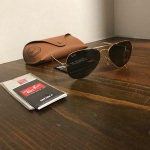 Ray-Ban Glasses RB3025 58mm L0205 Green G15 Lenses